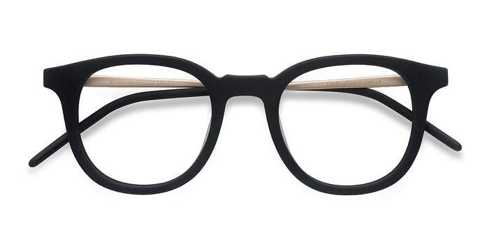 Matte Black  Vendome -  Geek Acetate Eyeglasses