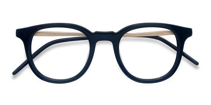 Navy  Vendome -  Geek Acetate Eyeglasses