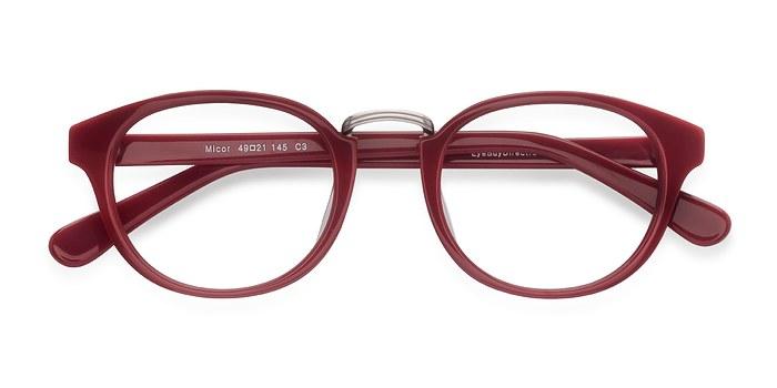 Red Micor -  Acetate Eyeglasses