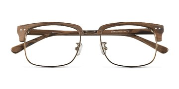 Brown The Woods -  Designer Acetate Eyeglasses