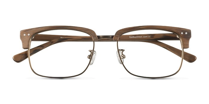 Brown The Woods -  Designer Acetate Eyeglasses