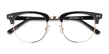 Black Borderline -  Designer Acetate Eyeglasses