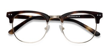 Tortoise Borderline -  Geek Acetate Eyeglasses