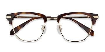 Tortoise Identity -  Geek Acetate Eyeglasses
