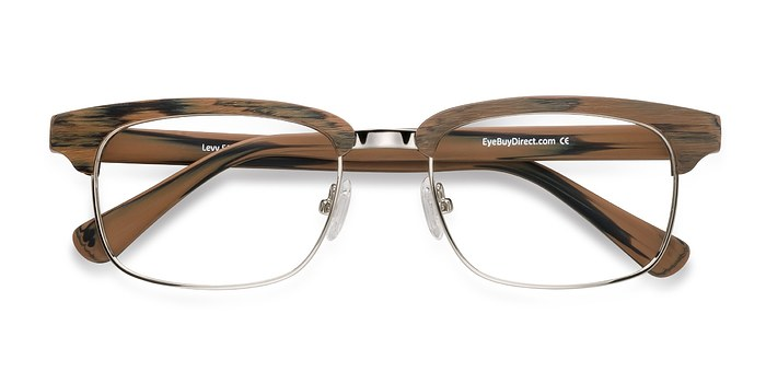 Brown Levy -  Designer Acetate Eyeglasses