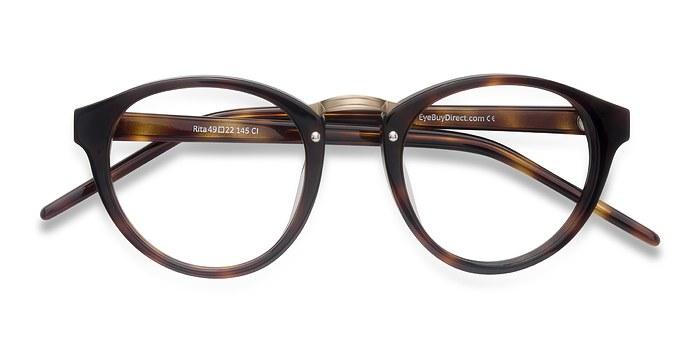 Tortoise Rita -  Designer Acetate Eyeglasses
