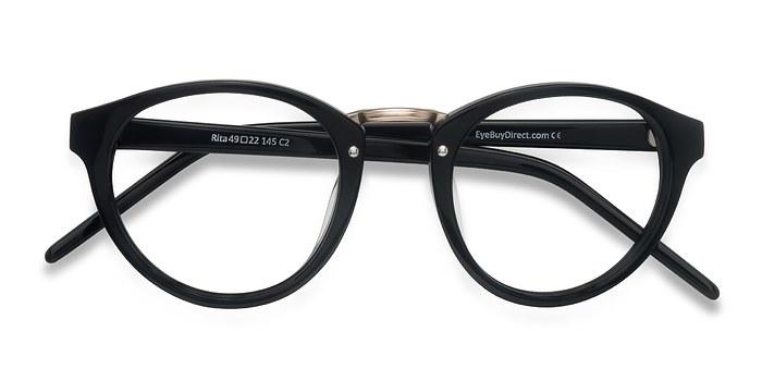 Black Rita -  Designer Acetate Eyeglasses