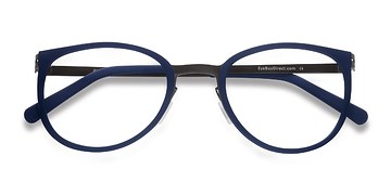 Navy Alpha -  Acetate Eyeglasses