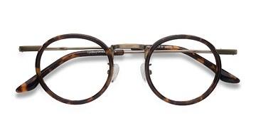 Tortoise Maybe You -  Designer Acetate Eyeglasses