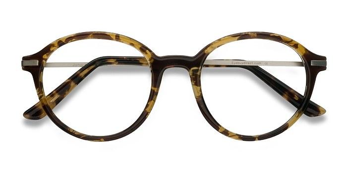 Tortoise Juno -  Metal Eyeglasses