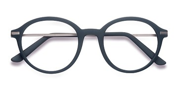 Matte Green Juno -  Metal Eyeglasses