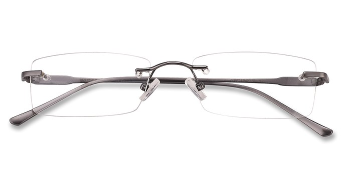 Gunmetal Courtney -  Lightweight Metal Eyeglasses