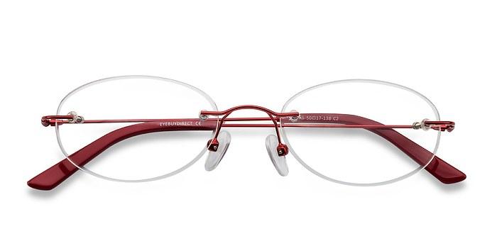 Red Ali -  Lightweight Metal Eyeglasses