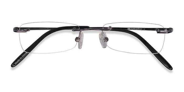 Gunmetal  South -  Lightweight Metal Eyeglasses