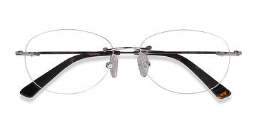 Silver Market -  Lightweight Metal Eyeglasses