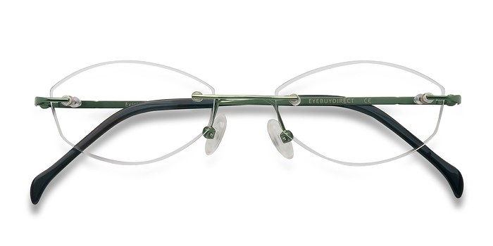 Green Exist -  Lightweight Metal Eyeglasses