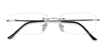 Silver Ebb -  Lightweight Titanium Eyeglasses