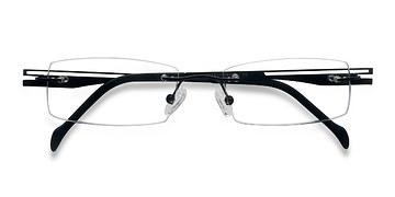 Black Lance -  Lightweight Titanium Eyeglasses