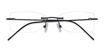 Black Giroux -  Lightweight Titanium Eyeglasses