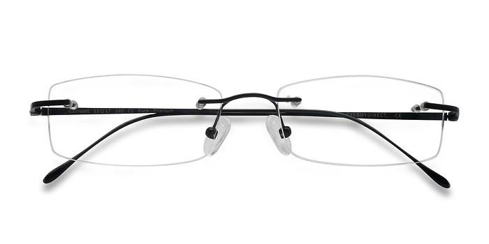 Black Gallivant -  Lightweight Titanium Eyeglasses