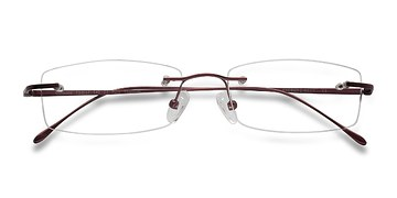 Red Gallivant -  Lightweight Titanium Eyeglasses