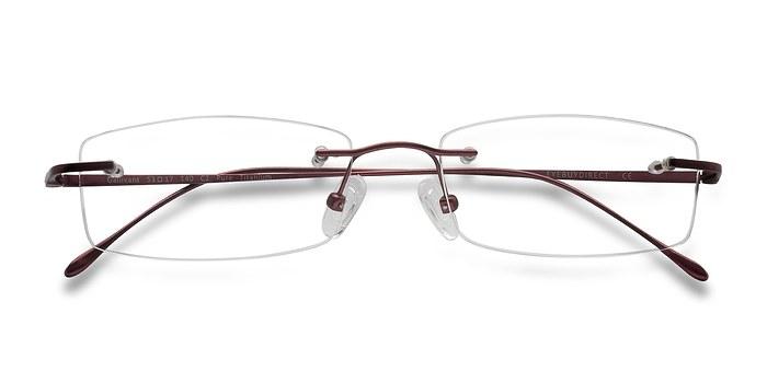 Red Gallivant -  Lightweight Titanium Eyeglasses