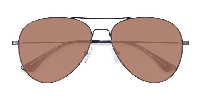 Black Good vibrations -  Metal Sunglasses