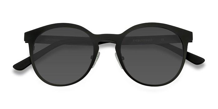 Matte Black Copenhagen -  Metal Sunglasses