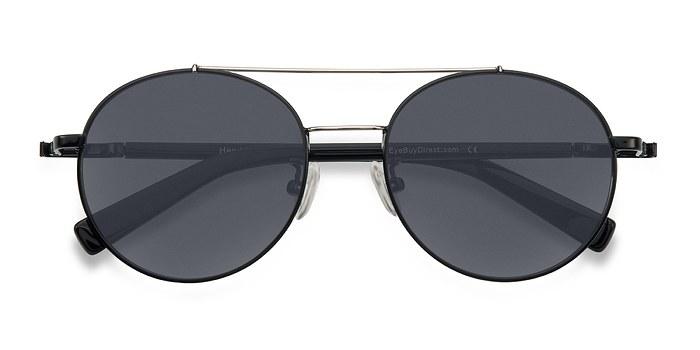 Black/Silver Hendrix -  Metal Sunglasses