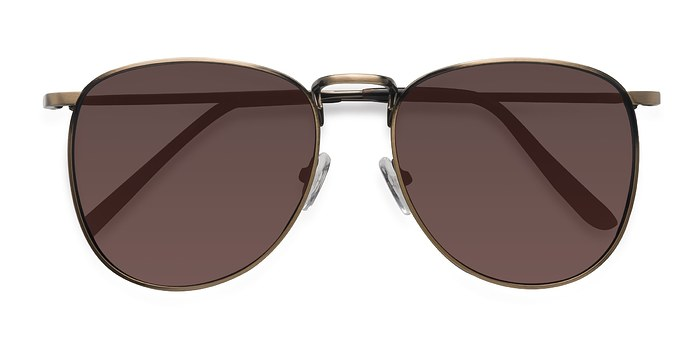 Bronze Fume -  Metal Sunglasses