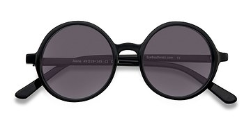 Black Alena -  Acetate Sunglasses