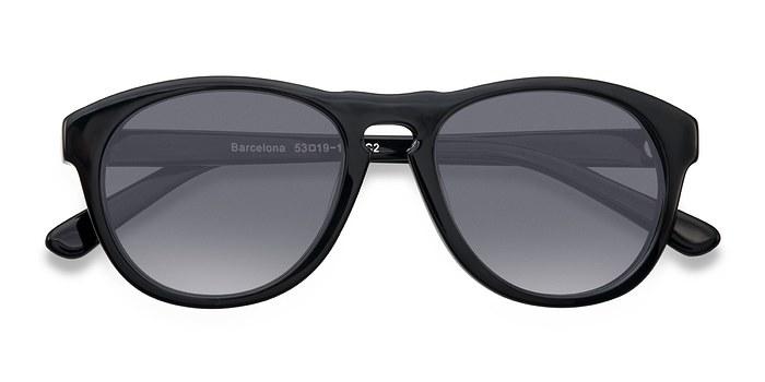 Black Barcelona -  Plastic Sunglasses