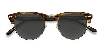Brown Golden The Hamptons -  Vintage Acetate Sunglasses
