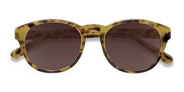 Brown/Tortoise Coppola -  Vintage Plastic Sunglasses