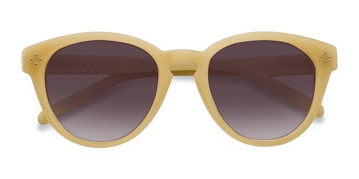 Yellow Augustine -  Plastic Sunglasses