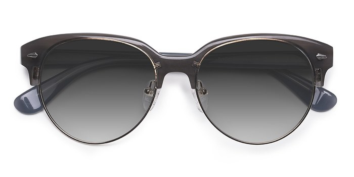 Gray Carven -  Plastic Sunglasses
