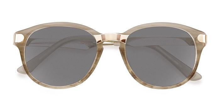 Gray/Golden Wynwood -  Acetate Sunglasses