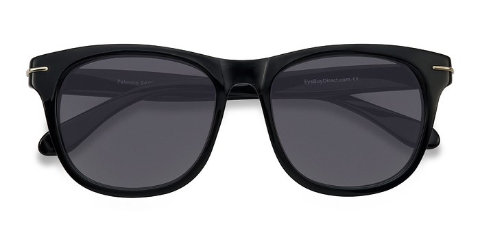 Black Palermo -  Acetate Sunglasses