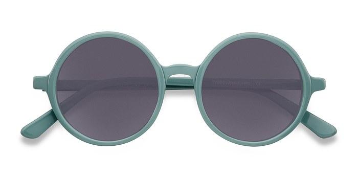 Green Alena -  Acetate Sunglasses