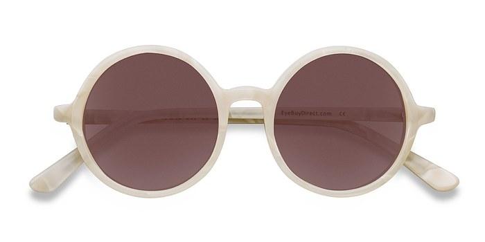 White Alena -  Acetate Sunglasses