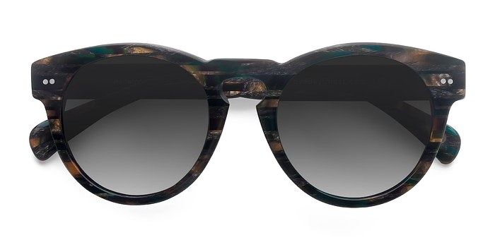 Tribal Green Penelope -  Acetate Sunglasses