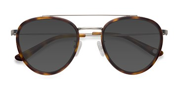 Tortoise Brookline -  Acetate Sunglasses