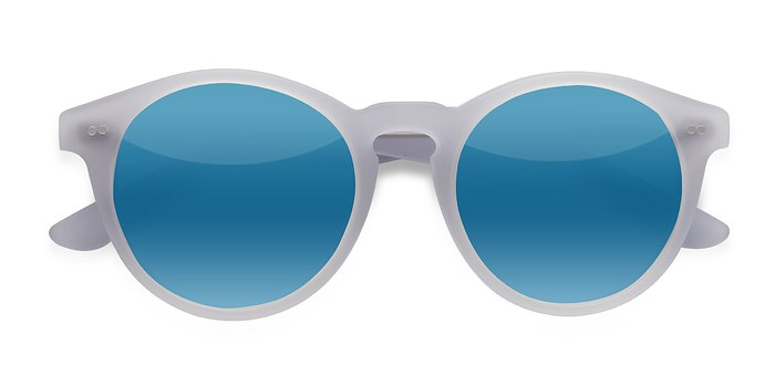 Matte Clear Havana -  Acetate Sunglasses