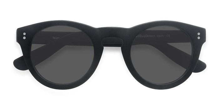 Matte Black Ibiza -  Acetate Sunglasses