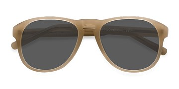 Beige Phased -  Acetate Sunglasses