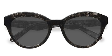 Gray Velour -  Vintage Acetate Sunglasses