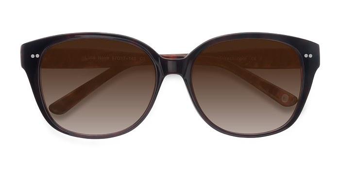 Dark Red  Lune Noire -  Acetate Sunglasses