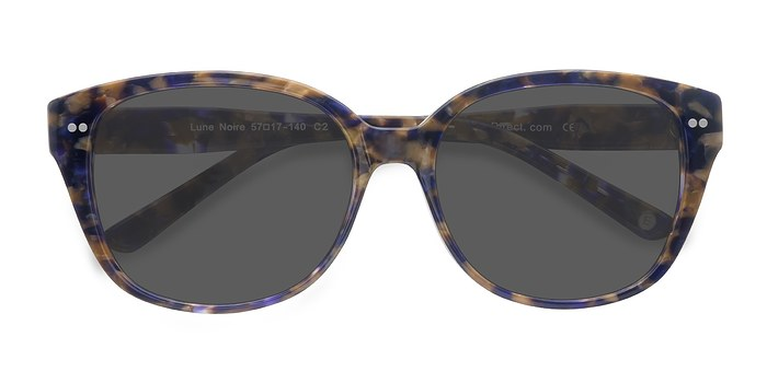 Purple Floral  Lune Noire -  Acetate Sunglasses