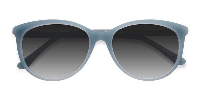 Blue Calypso -  Vintage Plastic Sunglasses