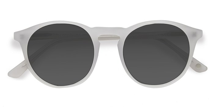 Matte White Air -  Acetate Sunglasses